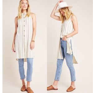 NWT Anthropologie Delphine Textured Tunic Dress
